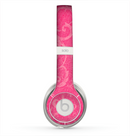 The Subtle Pink Floral Laced Skin for the Beats by Dre Solo 2 Headphones