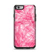 The Subtle Pink Watercolor Strokes Apple iPhone 6 Otterbox Symmetry Case Skin Set