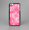The Subtle Pink Watercolor Strokes Skin-Sert Case for the Apple iPhone 6 Plus