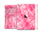 The Subtle Pink Watercolor Strokes Full Body Skin Set for the Apple iPad Mini 3
