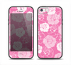 The Subtle Pinks Rose Pattern V3 Skin Set for the iPhone 5-5s Skech Glow Case