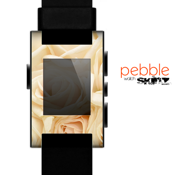 The Subtle Roses Skin for the Pebble SmartWatch