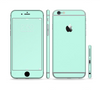 The Subtle Solid Green Sectioned Skin Series for the Apple iPhone 6s Plus