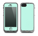 The Subtle Solid Green Skin for the Apple iPhone 5c Fre LifeProof Case