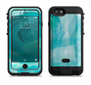 the subtle teal watercolor  iPhone 6/6s Plus LifeProof Fre POWER Case Skin Kit