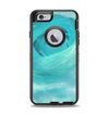 The Subtle Teal Watercolor Apple iPhone 6 Otterbox Defender Case Skin Set