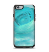 The Subtle Teal Watercolor Apple iPhone 6 Otterbox Symmetry Case Skin Set