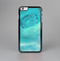 The Subtle Teal Watercolor Skin-Sert Case for the Apple iPhone 6 Plus