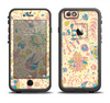The Subtle Yellow & Pink Sketched Lace Patterns v21 Apple iPhone 6 LifeProof Fre Case Skin Set