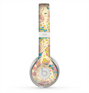 The Subtle Yellow & Pink Sketched Lace Patterns v21 Skin for the Beats by Dre Solo 2 Headphones