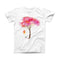 The Summer Swing ink-Fuzed Front Spot Graphic Unisex Soft-Fitted Tee Shirt