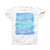 The Sun Sand Sea ink-Fuzed Front Spot Graphic Unisex Soft-Fitted Tee Shirt