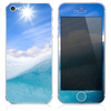 The Sunny Day Waves Skin for the iPhone 3, 4-4s, 5-5s or 5c