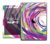 The Swirled Color Strokes Skin for the iPad Air