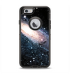 The Swirling Glowing Starry Galaxy Apple iPhone 6 Otterbox Defender Case Skin Set