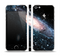 The Swirling Glowing Starry Galaxy Skin Set for the Apple iPhone 5