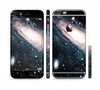 The Swirling Glowing Starry Galaxy Sectioned Skin Series for the Apple iPhone 6 Plus