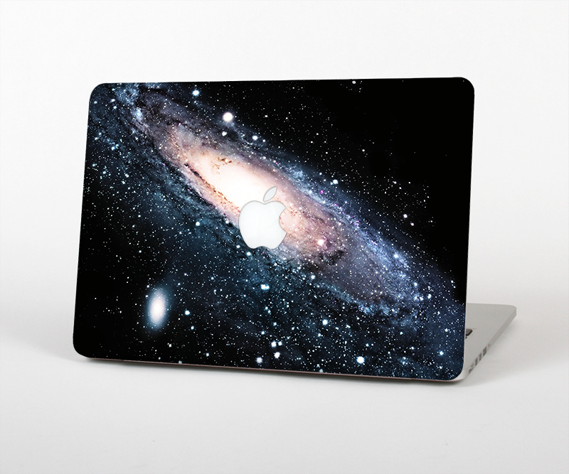 "The Swirling Glowing Starry Galaxy Skin Set for the Apple MacBook Pro 15"" with Retina Display"
