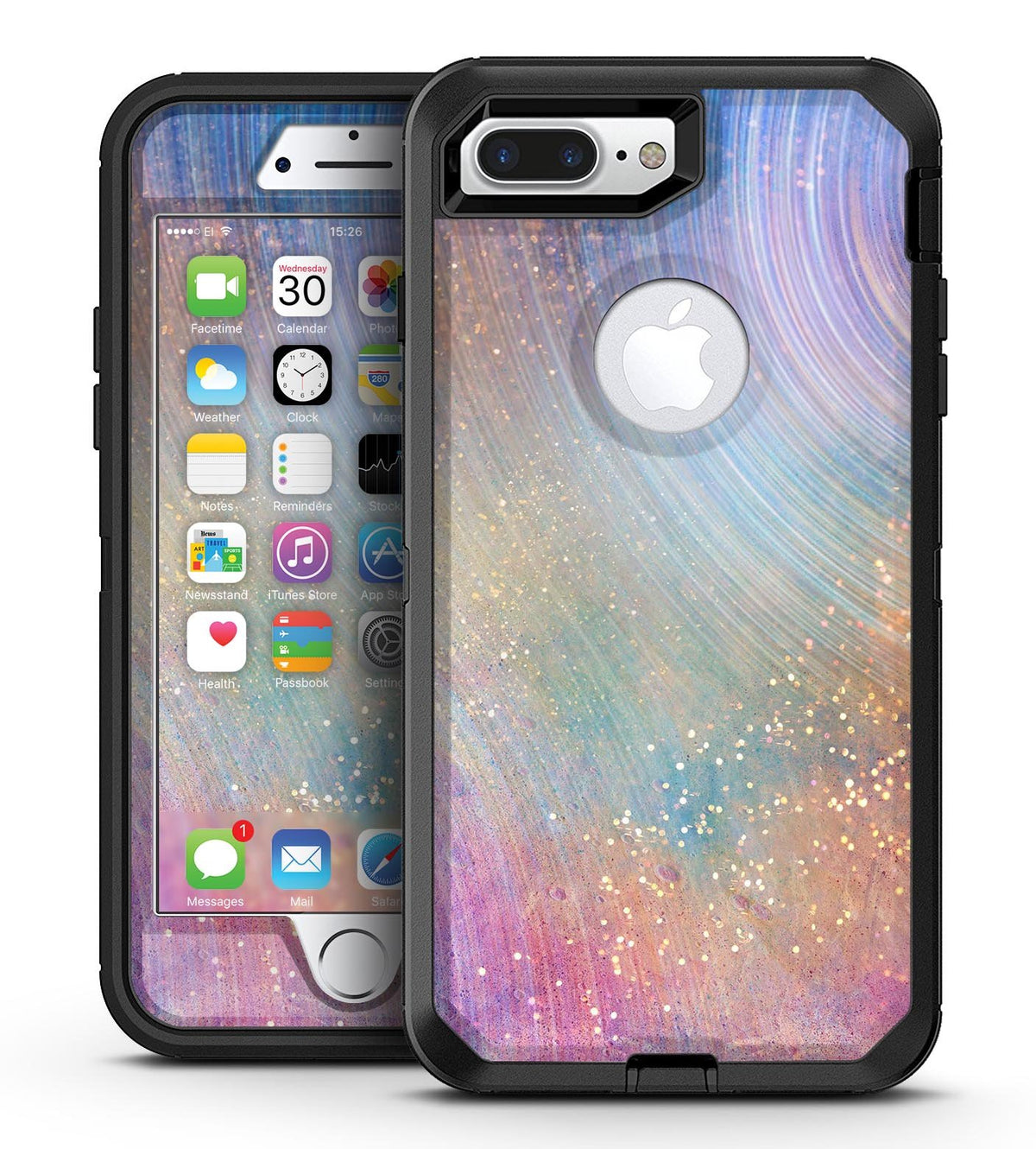 low priced 89bf8 5806f The Swirling Tie-Dye Scratched Surface - iPhone 7 Plus/8 Plus OtterBox Case  & Skin Kits