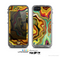 The Swirly Abstract Golden Surface Skin for the Apple iPhone 5c LifeProof Case