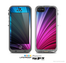 The Swirly HD Pink & Blue Lines Skin for the Apple iPhone 5c LifeProof Case