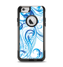 The Swirly Vector Water-Splash Pattern Apple iPhone 6 Otterbox Commuter Case Skin Set