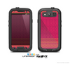 The Tall Pink & Orange Floral Vector Pattern Skin For The Samsung Galaxy S3 LifeProof Case