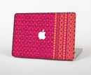 "The Tall Pink & Orange Floral Vector Pattern Skin Set for the Apple MacBook Pro 15"" with Retina Display"