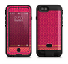 the tall pink orange vintage pattern  iPhone 6/6s Plus LifeProof Fre POWER Case Skin Kit