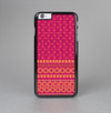 The Tall Pink & Orange Vintage Pattern Skin-Sert Case for the Apple iPhone 6 Plus