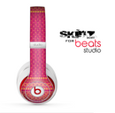 The Tall Pink & Orange Vintage Pattern Skin for the Beats Studio for the Beats Skin