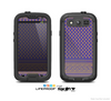 The Tall Purple & Orange Floral Vector Pattern Skin For The Samsung Galaxy S3 LifeProof Case