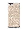 The Tan Abstract Vector Pattern Apple iPhone 6 Plus Otterbox Symmetry Case Skin Set