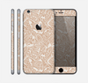 The Tan Abstract Vector Pattern Skin for the Apple iPhone 6 Plus