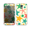 The Tan And Colorful Vector StarFish Skin For the Samsung Galaxy S5