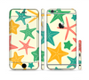 The Tan And Colorful Vector StarFish Sectioned Skin Series for the Apple iPhone 6 Plus