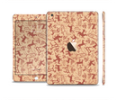 The Tan & Brown Vintage Deer Collage Full Body Skin Set for the Apple iPad Mini 3