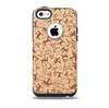 The Tan & Brown Vintage Deer Collage Skin for the iPhone 5c OtterBox Commuter Case