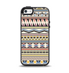 The Tan & Color Aztec Pattern V32 Apple iPhone 5-5s Otterbox Symmetry Case Skin Set