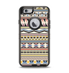 The Tan & Color Aztec Pattern V32 Apple iPhone 6 Otterbox Defender Case Skin Set