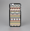 The Tan & Color Aztec Pattern V32 Skin-Sert Case for the Apple iPhone 6 Plus