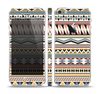 The Tan & Color Aztec Pattern V32 Skin Set for the Apple iPhone 5