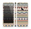 The Tan & Color Aztec Pattern V32 Skin Set for the Apple iPhone 5s