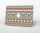"The Tan & Color Aztec Pattern V32 Skin Set for the Apple MacBook Pro 15"" with Retina Display"