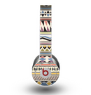 The Tan & Color Aztec Pattern V32 Skin for the Beats by Dre Original Solo-Solo HD Headphones