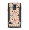 The Tan Colorful Hipster Icons Samsung Galaxy S5 Otterbox Commuter Case Skin Set