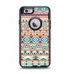 The Tan & Teal Aztec Pattern V4 Apple iPhone 6 Otterbox Defender Case Skin Set
