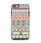 The Tan & Teal Aztec Pattern V4 Apple iPhone 6 Plus Otterbox Symmetry Case Skin Set