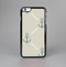 The Tan Vintage Solid Color Anchor Linked Skin-Sert Case for the Apple iPhone 6 Plus