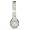 The Tan Vintage Solid Color Anchor Linked copy Skin for the Beats by Dre Solo 2 Headphones